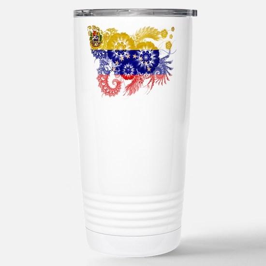 Venezuela Flag Stainless Steel Travel Mug