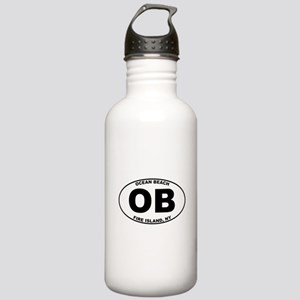 Ocean Beach Fire Island Stainless Water Bottle 1.0