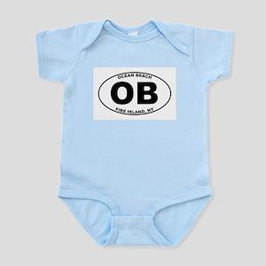 Ocean Beach Fire Island Infant Bodysuit