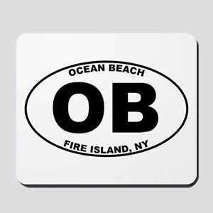 Ocean Beach Fire Island Mousepad
