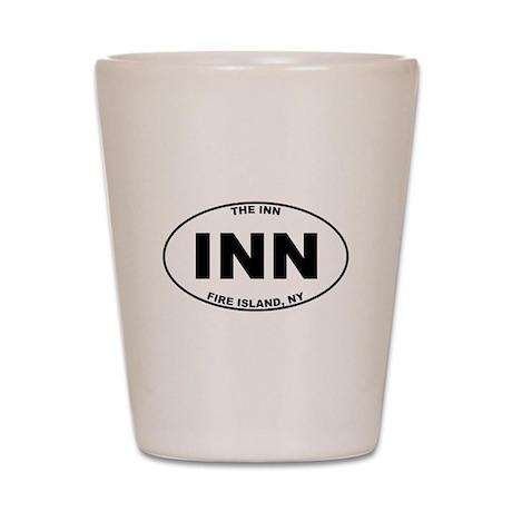 The Inn Fire Island Shot Glass