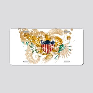 Virgin Islands Flag Aluminum License Plate