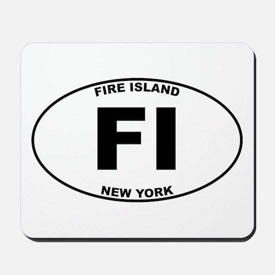 Fire Island Mousepad