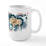 Wyoming Flag Large Mug