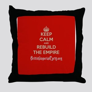 Keep Calm And... Throw Pillow