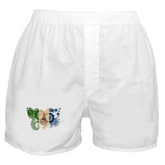 Yukon Territories Flag Boxer Shorts