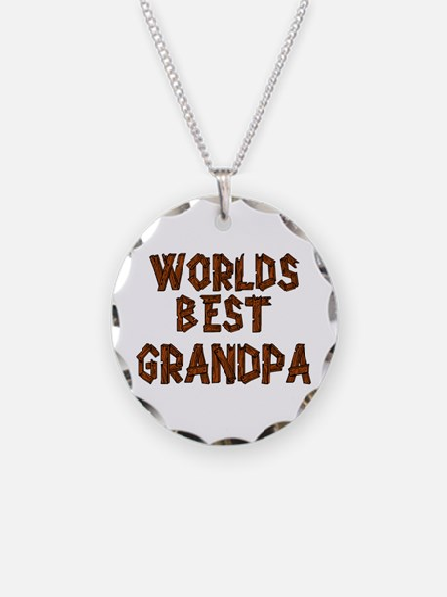 Worlds Best Grandpa Necklace