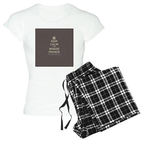Keep Calm and Invade France Women's Light Pajamas