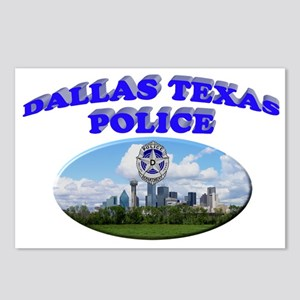 Dallas PD Skyline Postcards (Package of 8)