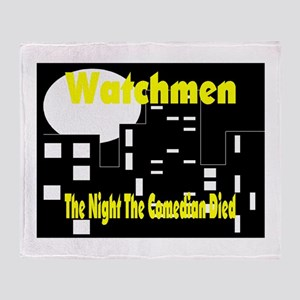 watchmen Throw Blanket