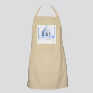 """""""Pixel Taj Mahal"""" BBQ Apron"""