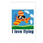I Love Flying Postcards (Package of 8)