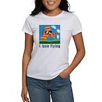 I Love Flying Women's T-Shirt