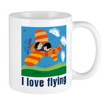 I Love Flying Mug