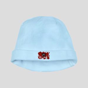 Albania Flag baby hat