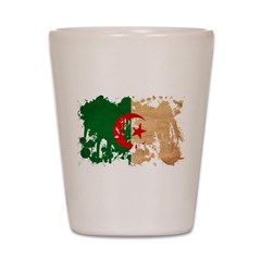 Algeria Flag Shot Glass