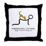 Marjariasana - Cat Pose - things I learned Throw P