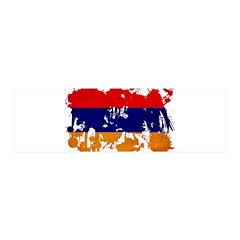 Armenia Flag 21x7 Wall Peel