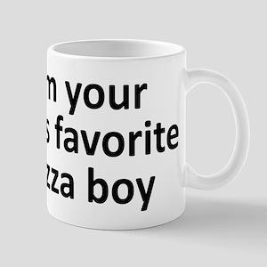 I'm your girl's favorite pizz Mug