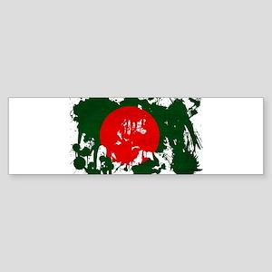 Bangladesh Flag Sticker (Bumper)