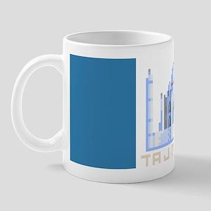 """""""Pixel Taj Mahal"""" Mug"""