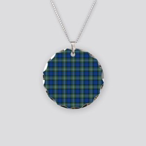 Tartan - Davidson of Tulloch Necklace Circle Charm