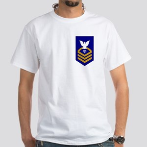 Chief Information System Technician White T-Shirt