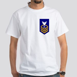Chief Gunner's Mate<BR> White T-Shirt