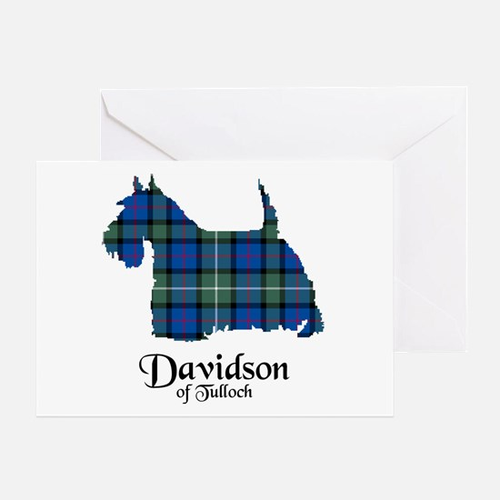 Terrier - Davidson of Tulloch Greeting Card