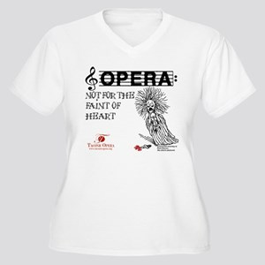 Opera: not for the faint of h Women's Plus Size V-