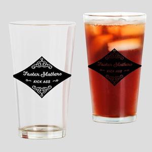 Foster Mothers Kick Ass Drinking Glass