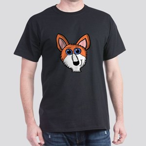 Cartoon Fox Head T-Shirt