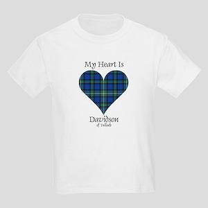 Heart - Davidson of Tulloch Kids Light T-Shirt