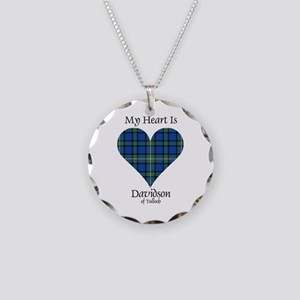 Heart - Davidson of Tulloch Necklace Circle Charm