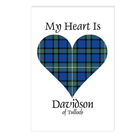 Heart - Davidson of Tulloch Postcards (Package of