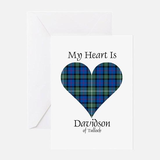 Heart - Davidson of Tulloch Greeting Card