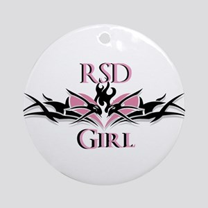 RSDgirl New Logo Ornament (Round)