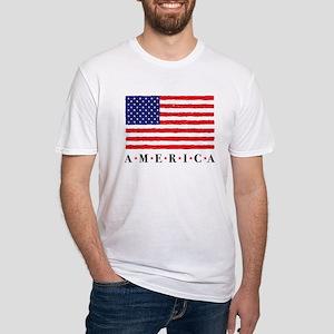 American Flag Fourth of July Stars T-Shirt