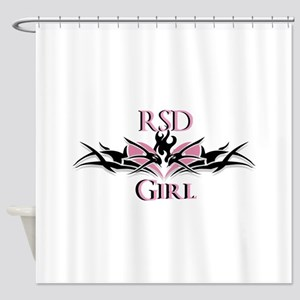 RSDgirl New Logo Shower Curtain