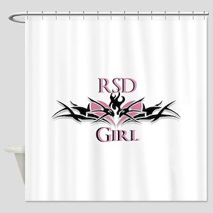 RSDgirl New Logo Shower Curtain