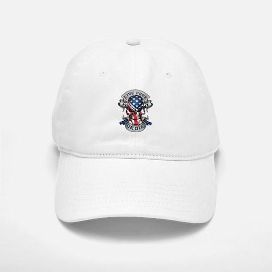 Live Free Baseball Baseball Cap