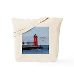 South Haven Pierhead Light Tote Bag