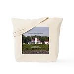 Raspberry Island Lighthouse Tote Bag