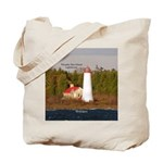 Thunder Bay Island Lighthouse Tote Bag