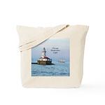 Chicago Breakwater Light & Windy Ii Tote Bag