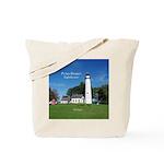 Pt Aux Barques Lighthouse Tote Bag