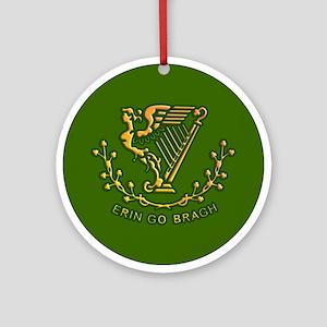 ERIN GO BRAGH Ornament (Round)