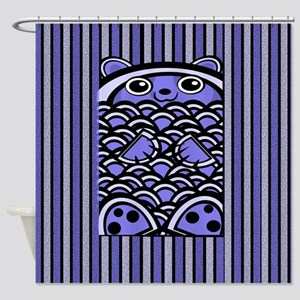 Blue Bear Shower Curtain