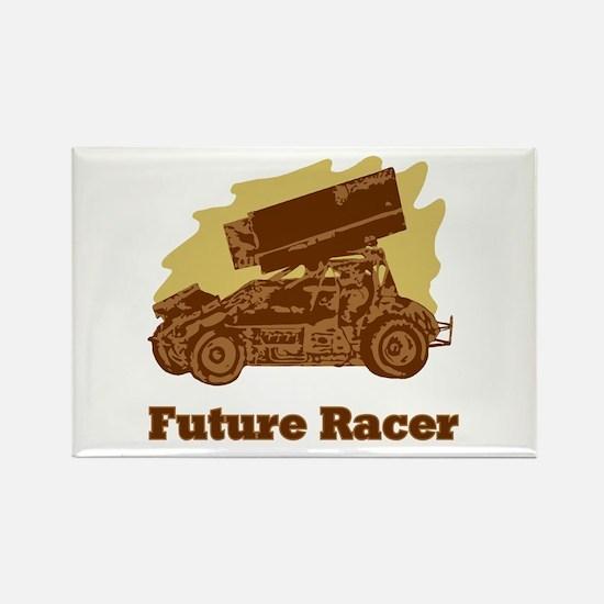 Future Auto Racer Rectangle Magnet