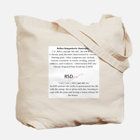 RSDgirl Definition Tote Bag